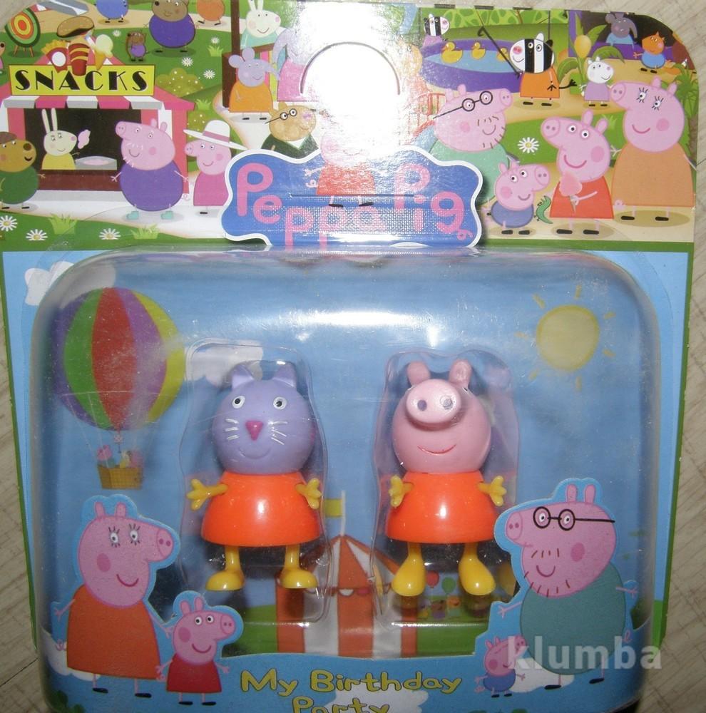 Набор фигурок свинка пеппа, 2шт на листе (1 на выбор победителя!) фото №1