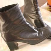 Ботинки стильные, классика, полусапожки,кожа