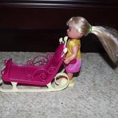 Сани для куклы Simba