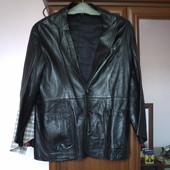 Жакет-куртка шкіряний