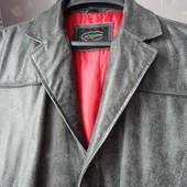 Мужское пальто из натуральной кожи - новое.