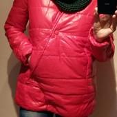 Яркая красная осенне-весенняя женская куртка, новая