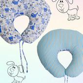 Подушка для беременных и кормящих мам рогалик