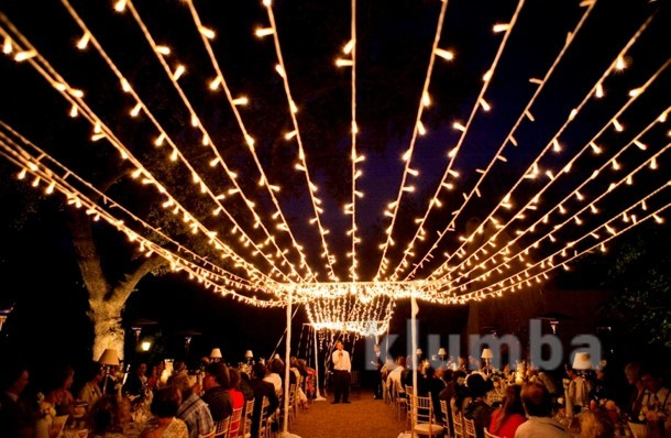Гирлянда нить светодиодная,оформление новогодней площади фото №5