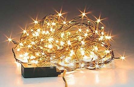 Гирлянда нить светодиодная,оформление новогодней площади фото №6