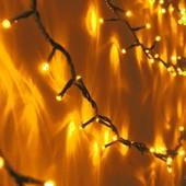 Светодиодная гирлянда световая нить ,новогоднее оформление зданий