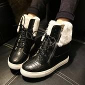 Модные сникерсы ботинки в стиле Zanotti (занотти) .Новинка