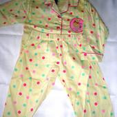 Новая пижама 100%хлопок Дисней