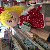 Мягкая кукла лялька Даша ТМ Левеня, м'яка іграшка