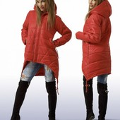 Тёплая стильная куртка! разные цвета! супер цена!