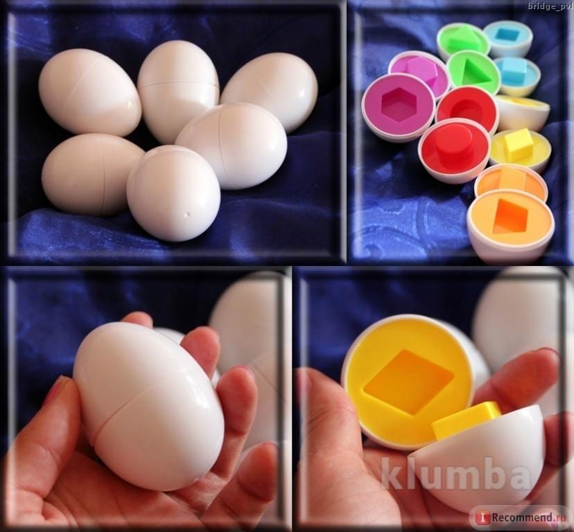 Развивающая игрушка яйца, сортер, пазл, головоломка, игрушечные яйца, конструктор фото №1
