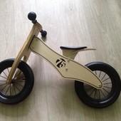 Беговел Велобег Bike 75 деревянный