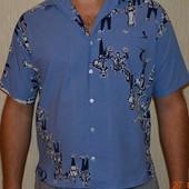 Шведка, рубашка мужская р 48-50