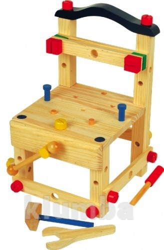 Конструктор-стульчик большой, Мир деревянных игрушек фото №1