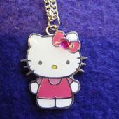 Кулон с цепочкой  Hello Kitty для девочки из Англии