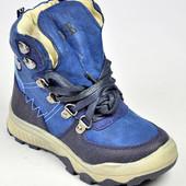 Зимние ботиночки для мальчика  натуральный мех