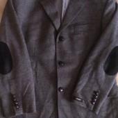 Пиджак мужской шерстяной новый