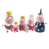 """Набор фигурок Peppa серии """"Принцесса"""" - Королевская семья (6 фигурок)"""