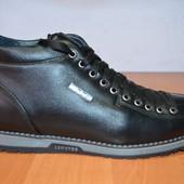 Зимние кожаные ботинки по цене прошлого года .