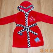 Красивый халат Disney для мальчика 12-18 месяцев, 86 см