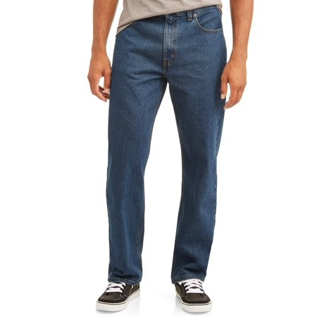 Джинсы мужские джордж george five pocket jeans walmart фото №1