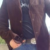 Фірмовий стильний вільветовий пиджак піджак Sisley.хл.
