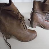 Ботинки ботильоны женские демисезонные новые