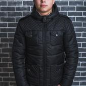 Зимняя мужская куртка Разные цвета мужской пуховик