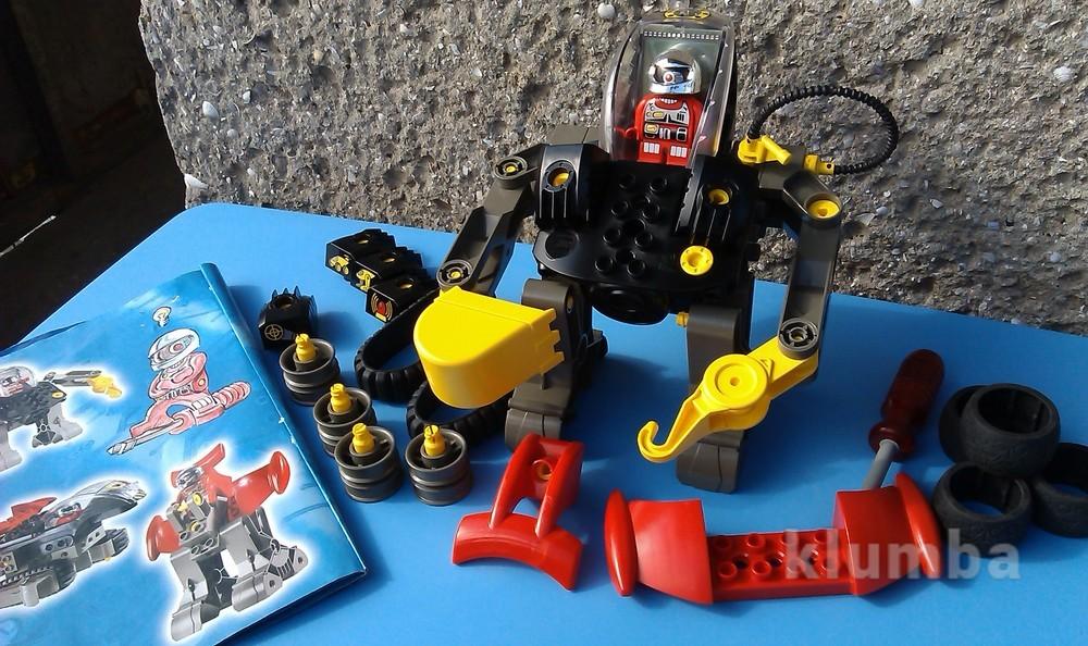 Lego duplo 2916 mybot интерактивные модели серия action wheelers возраст 4 фото №1