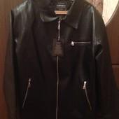 Новая мужская куртка ( Экокожа , Италия) 700 грн!!!