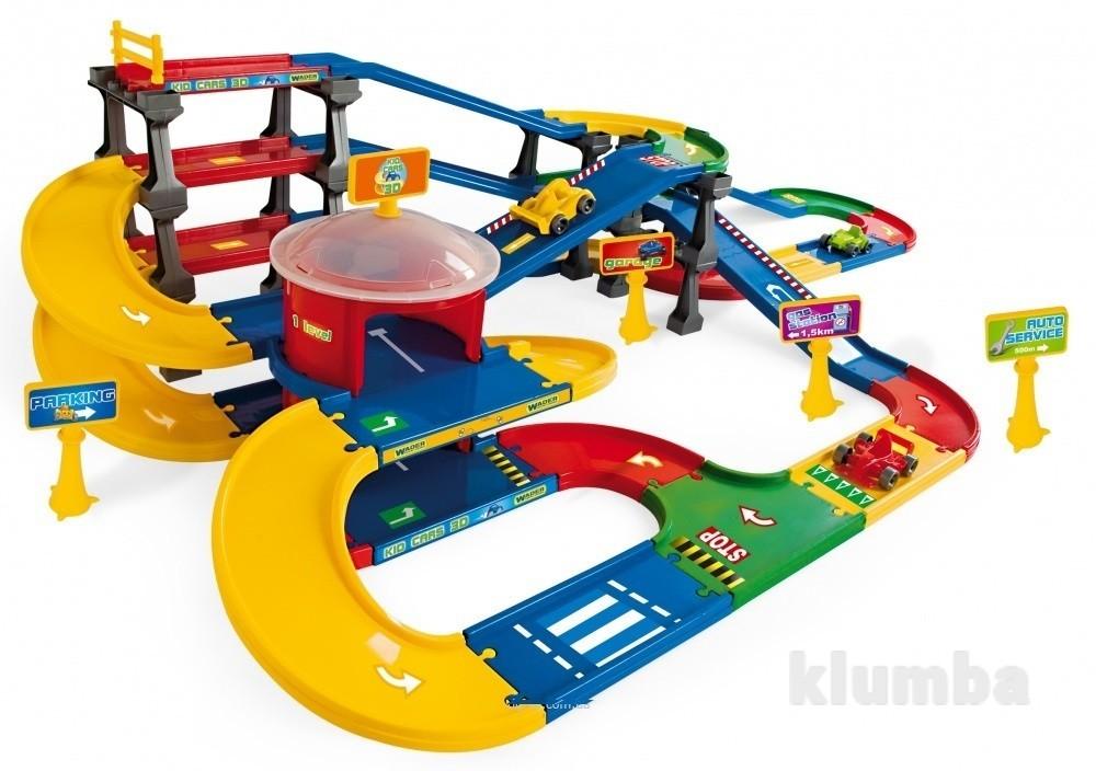 Kid Cars 3D детский паркинг с трассой 9,1 м 53070 фото №1