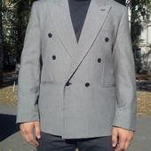 Блейзер (пиджак) двубортный размер 50-й (Л) Англия
