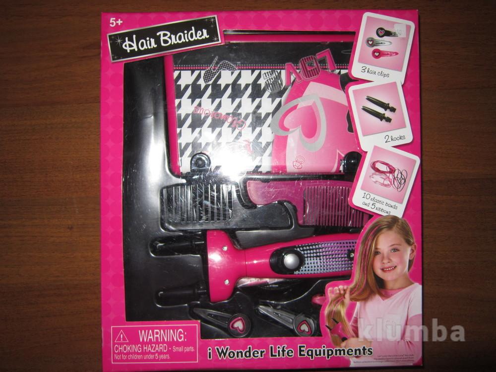 На 5+ новый набор hair braider машинка для плетения косичек hair braider фото №1