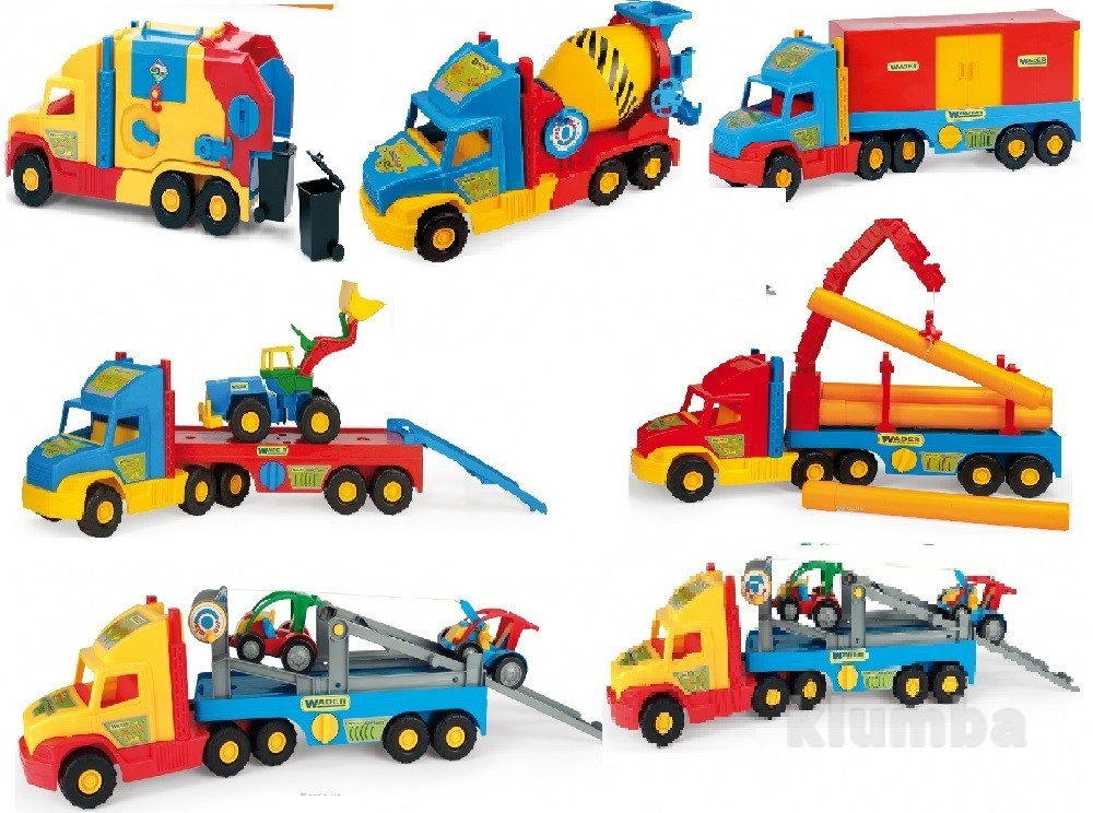 Машины super truck 36620, 36630, 36540, 36510, 36590, 36580 фото №1