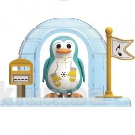 Игровой набор с интерактивным пингвином DigiPenguins - Иглу пэйтона (с иглу и свистком) фото №1