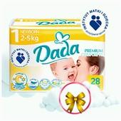 Наличие Днепр! подгузники памперсы Дада Dada premium newborn Comfort Fit р.1