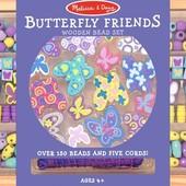 Набор бусинок «Бабочки», Melissa&Doug