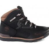 Ботинки кожа с пропиткой Timberland Brown Oiled Nubuck 40 размер