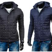 Мужская стеганная демисезонная куртка