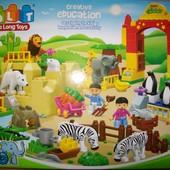 Конструктор Зоопарк jdlt 5096 аналог Lego Duplo, 115 деталей!
