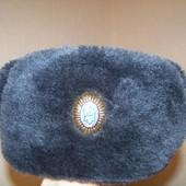 Зимняя военная шапка, почти новая.