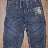 Летние джинсы Benetton 9-12 м.