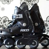 Роликовые коньки (ролики) Roces Madrid Mad Италия (р. 39)