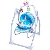 Качели шезлонг Тилли bt-sc-003 детская музыкальная колыбель кресло качалка Tilly