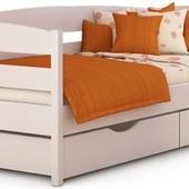 Детская и подростковая деревянная кровать от производителя Нотта