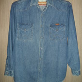 рубашка джинсовая Wrangler ворот42