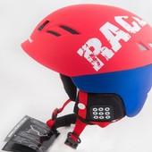 Шлем горнолыжный X Road № 930 2 Red Blue