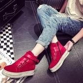 Мега ботинки сникерсы кроссовки на  платформе .Must Have 2016