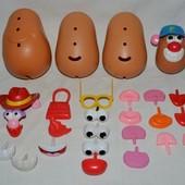 Запчасти Playskool фирменный конструктор мистер картошка картофельная голова Mr. Potato Head Hasbro