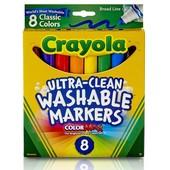 Crayola смываемые маркеры 8 шт/уп